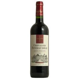 【スーパーセール半額】シュバリエ・フォントデージ[2004] フランス AOCサンテミリオン 木樽熟成 赤ワイン ボルドー 750ML ギフト プレゼント