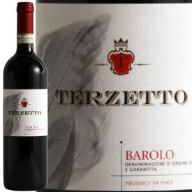 【スーパーセール半額】訳あり ラベルやキャップシールに傷みあり テルツェット・バローロ[2015]イタリア赤木樽熟成 ギフト 750ML