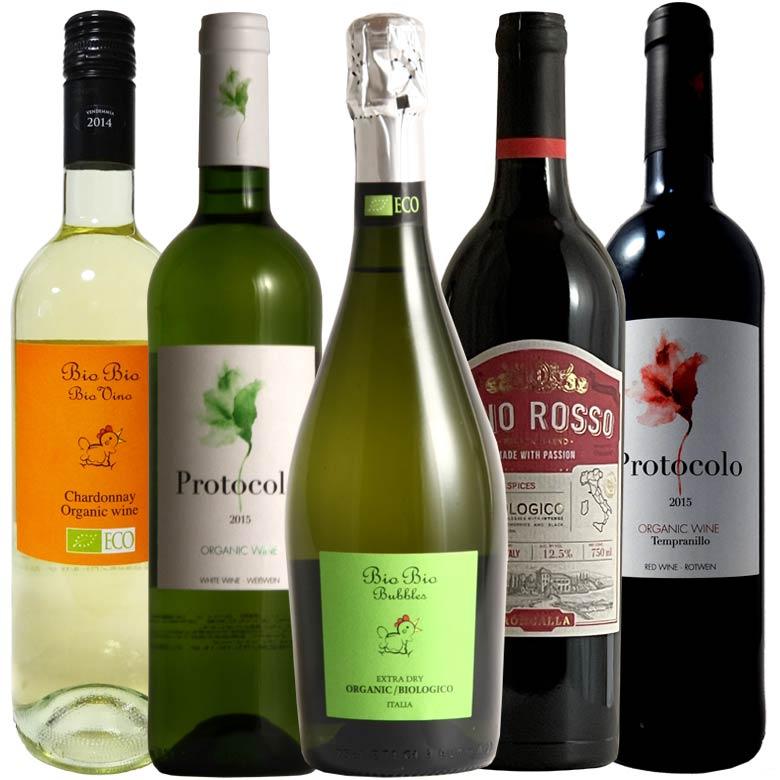イタリア オーガニックワイン 『VinuvA ヴィヌーヴァ』5本セット