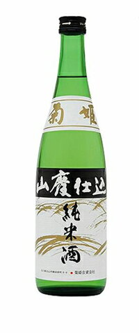 菊姫山廃仕込純米酒720ml
