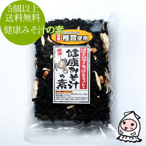【 5個以上で送料無料 】健康志向 健康味噌汁の素580円 インスタント味噌汁 わかめ 若布 海藻