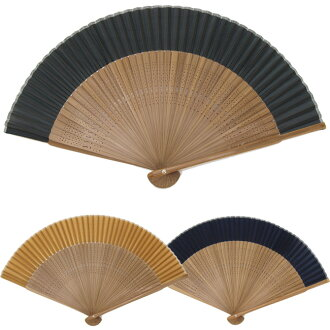 To best! men's summer fan ♪ perfect for gifts! Wrapping is OK! Silk 100% high quality men's fan