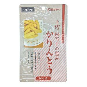(まとめ)ペットプロ 土佐・四万十の恵み かりんとう プレーン 40g【×10セット】