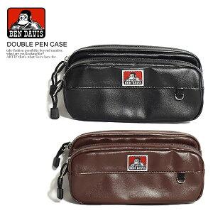 ベンデイビス BEN DAVIS DOUBLE PEN CASE bdw-9316l レディース メンズ ペンケース ストリート系 bendavis ベンデービス ブランド おしゃれ かっこいい 筆入れ 筆箱 高校生 大人 ペン ケース かわいい ゴリ