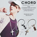 50%OFF SALE セール コードナンバーエイト CHORD NUMBER EIGHT WARRIORS CROSS NECKLACE n8m1h3-ac01 chordnumbereig…