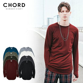 30%OFF SALE セール コードナンバーエイト CHORD NUMBER EIGHT LONG CUTSEW ch01-01k5-cl03 chordnumbereight メンズ レディース Tシャツ ストリート