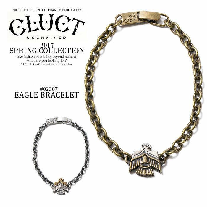 クラクト CLUCT EAGLE BRACELET cluct 2017 春 メンズ レディース ブレスレット イーグル ワシ ブレス ストリート 送料無料