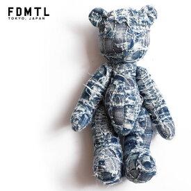 ファンダメンタル FDMTL BORO TEDDY BEAR fa21-acc18 メンズ レディース テディベア 送料無料