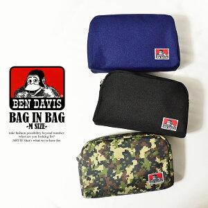 ベンデイビス BEN DAVIS BAG IN BAG M SIZE 【メンズ レディース 小物 アクセサリー ポーチ】【BENDAVIS ベンデービス】ストリート 05P05Dec15