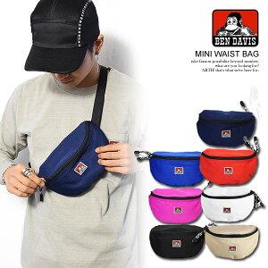 ベンデイビスBEN DAVIS MINI WAIST BAG bdw-9233 レディース メンズ 鞄 バッグ ウエストバッグ ボディバッグ ウエストポーチ おしゃれ かっこいい カジュアル ファッション BENDAVIS ベンデービス