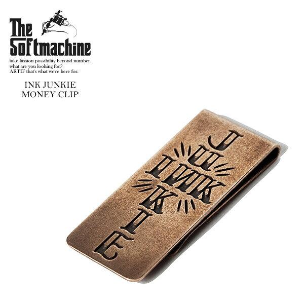 SOFTMACHINE ソフトマシーン INK JUNKIE MONEY CLIP