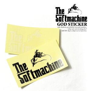 ソフトマシーン SOFTMACHINE GOD STICKER soft20aw-gst レディース メンズ ステッカー ストリート