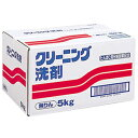 無りんクリーニング洗剤(PC) 5kg【ケース販売】【税抜3,000円以上送料無料】【粉末洗剤】【RCP】
