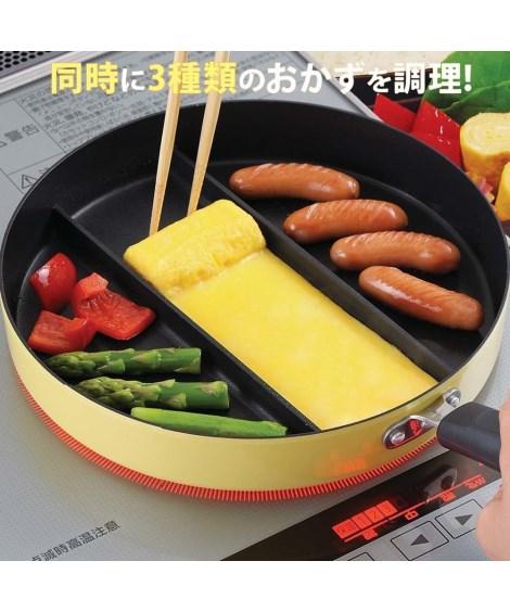キッチン用品・調理器具 【メディアで話題】センターエッグトリプルパン ニッセン nissen