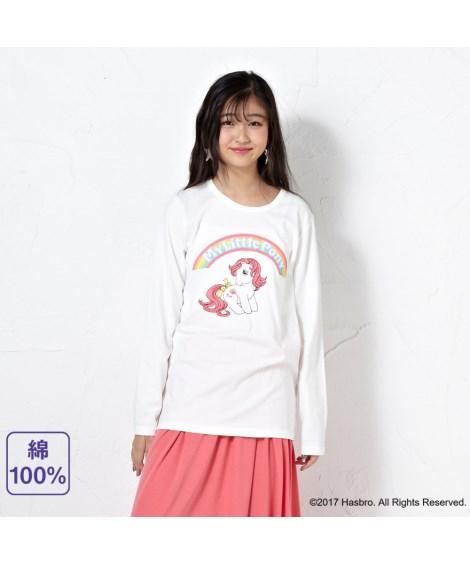 ニッセン トップス・チュニック 綿100%長袖Tシャツ(マイリトルポニー) nissen