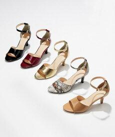 靴(シューズ) アンクルストラップサンダル(低反発中敷) ニッセン nissen