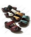 リゲッタ サンダル レディース ダブル ベルト グミ R-2681 年中 靴 アイボリー/ブラック/マスタード/ライトブルー/レ…