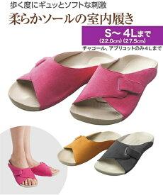 AKAISHI 靴 レディース アーチフィッター603 指圧 アプリコット/ローズ 22.0〜22.5/23.0〜23.5/24.0〜24.5cm ニッセン nissen