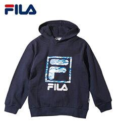 a5fbad20e4b0c FILA スポーツウェア キッズ スウェット パーカー 男の子 女の子 子供服 ジュニア服 ネイビー 杢グレー