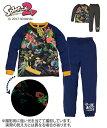 パジャマ・ルームウェア 【スプラトゥーン2】光るパジャマDX(男の子 女の子 子供服 ジュニア服) ニッセン nissen