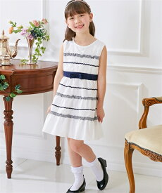 e45036c15edc0 ワンピース キッズ リボン付 フォーマル 女の子 子供服・ジュニア服 ウェア スーツ オフホワイト 身長