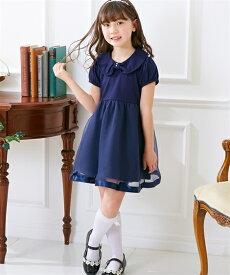 70d487048f28c ワンピース キッズ 衿付 フォーマル 女の子 子供服 ウェア スーツ 黒 紺 身長100