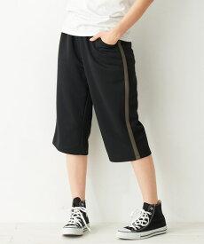パンツ 大きいサイズ レディース ジャージ ハーフ 年中 カーキ/ネイビー/黒 L〜10L ニッセン