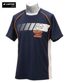 パジャマ カジュアル メンズ ロット DRYメッシュロゴプリント Tシャツ リラックス ゴールド/ネイビー M/L/LL ニッセン