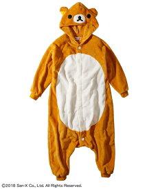 リラックマ パジャマ キッズ 着ぐるみ 女の子 子供服 ジュニア服 ブラウン 身長110/130/150cm ニッセン