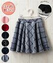 ボトムス あったか 選べる6色☆ベロアパンツインスカート(女の子 子供服・ジュニア服) ニッセン nissen