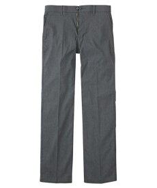 パンツ 大きいサイズ カジュアル メンズ メガ ストレッチ ミニヘリンボンノータック グレー/ネイビー/ブラック 100/105/110/97 ニッセン nissen