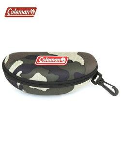 メンズ Coleman コールマン サングラス専用 ハードケース CO07 カーキ カモフラージュ /グリーン/レッド ニッセン