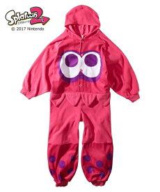 パジャマ スプラトゥーン2 変身 着ぐるみ 男の子 女の子 子供服 イカ 身長110/130/150cm ニッセン