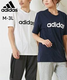 【スポーツ】 アディダス M ESS LIN SJ Tシャツ(男女兼用) 29192 メンズ レディス M-4XO(6L相当) 大きいサイズメンズ ニッセン adidas 【21春夏新入荷】 【brand】 【ポイント倍付け中!】