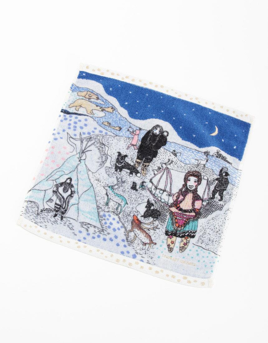 ワコール・tsumori chisato(ツモリチサト)ハンドタオル (雪の日)