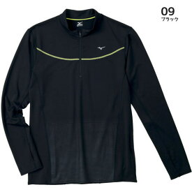 50%OFF ミズノ ランニングTシャツ(長袖) J2JA4603 09 ブラック メンズ [MEN50DO][SALE][U-50]