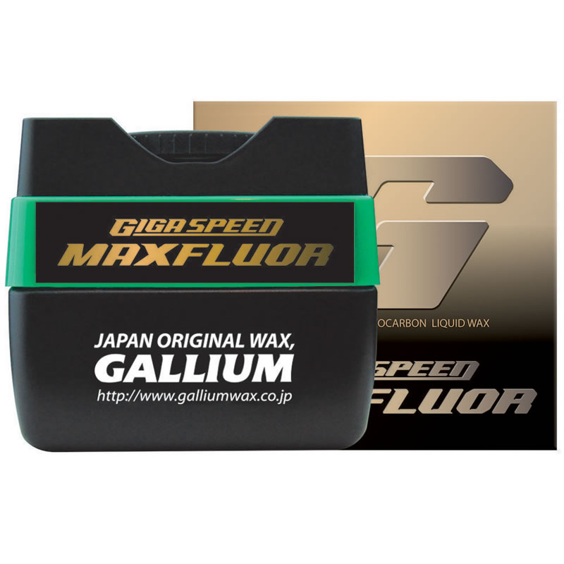 15%OFF 17/18 ガリウム GIGA SPEED Maxfluor( 30ml) [GS3301] 【店頭受取対応商品】