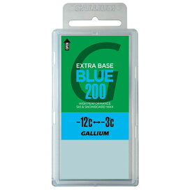 30%OFF 18/19 ガリウム GALLIUM EXTRA BASE BLUE200 (200g) SW2078 【店頭受取対応商品】[GLS30]【ラッキーシール対応】