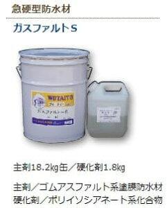 ウォータイト ガスファルトS 20kgセット