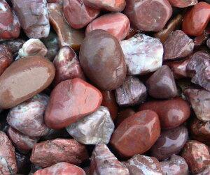 赤玉石 ヤマト和風本玉石 20kg/袋 マツモト産業