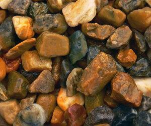 ヤマト新五色砂利 ヤマト天然砂利 12kg/袋 マツモト産業
