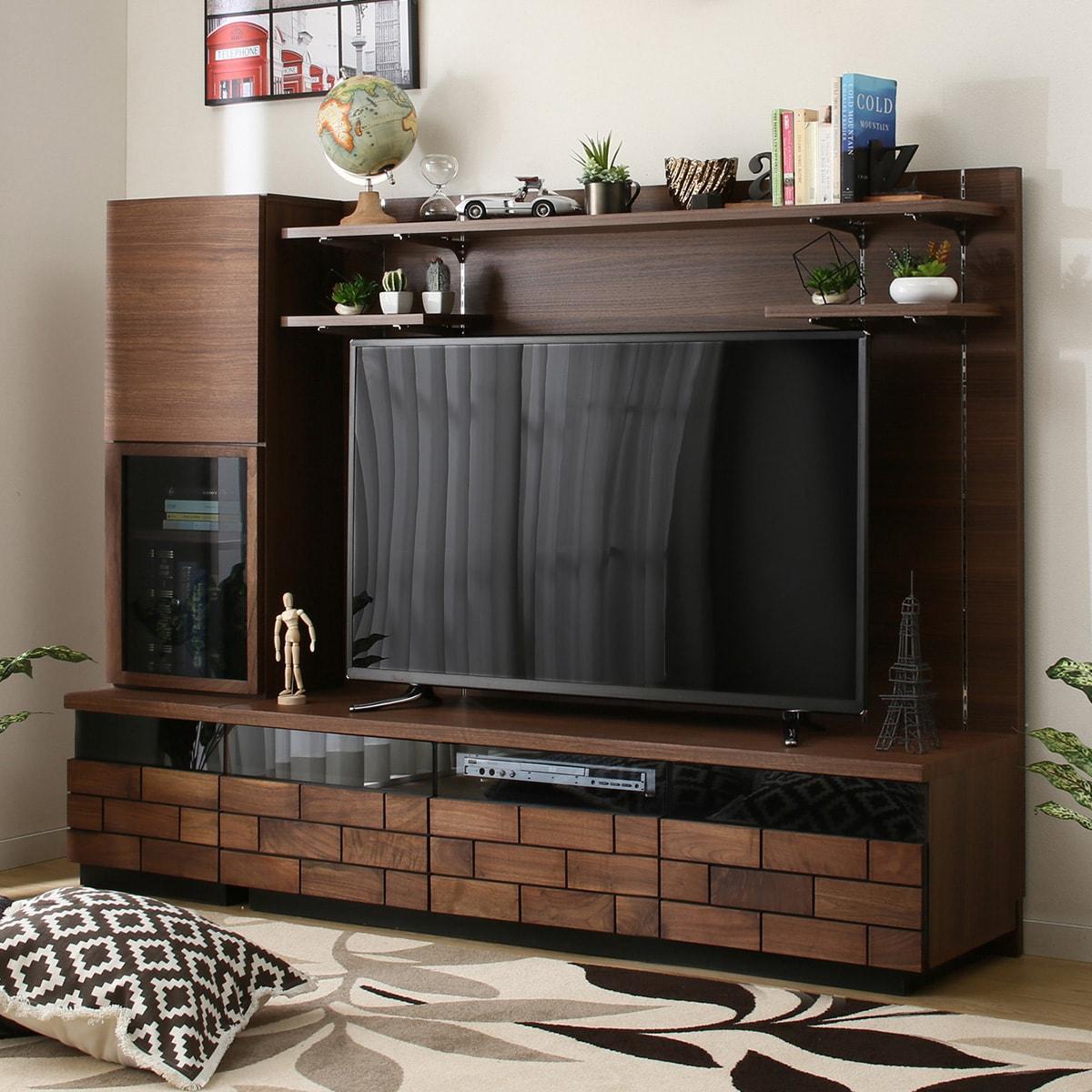 TVボードキャビネットセット(ブロリック 150 セット/ ブロリック40L セット) ニトリ 【完成品・配送員設置】 【5年保証】