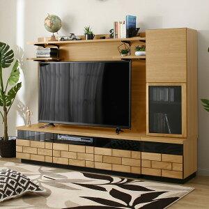 テレビボードセット(ブロリック150LBR/キャビネット ブロリック40R) ニトリ 【配送員設置】 【5年保証】