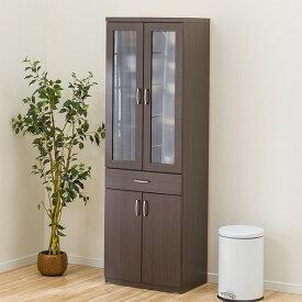食器棚(コパン 60DB DBR) ニトリ 【完成品・配送員設置】 【5年保証】