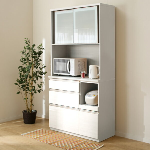 キッチンボード(アルミナ2 100KB WH) ニトリ 【完成品・配送員設置】 【5年保証】