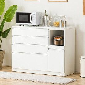 キッチンカウンター(レジューム 120-2SH-R WH) ニトリ 【配送員設置】 【5年保証】