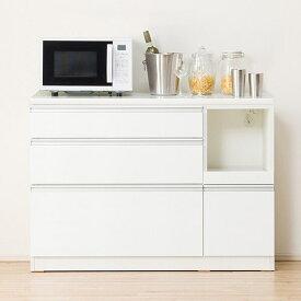 キッチンカウンター(レジューム 120-2QL-R WH) ニトリ 【配送員設置】 【5年保証】
