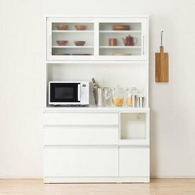 キッチンボード( レジューム120-2TG-S WH/120-2QL-R WH) ニトリ 【配送員設置】 【5年保証】