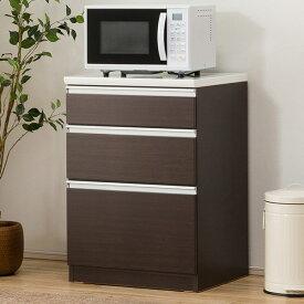 キッチンカウンター(レジューム 60SL DBR) ニトリ 【配送員設置】 【5年保証】