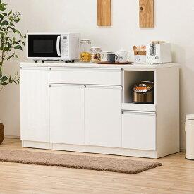 キッチンカウンター(レジューム 150TL-R WH) ニトリ 【配送員設置】 【5年保証】